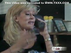 Horny pornstar in exotic blonde, vintage lovemaking clip
