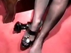 Barbara - Tights & Footjobs