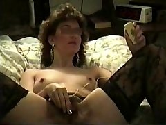The Conclude Hot, Hairy Wifey Homemade Sex Tap