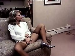 Lee Caroll, Sharon Kane in fur covered labia eaten and