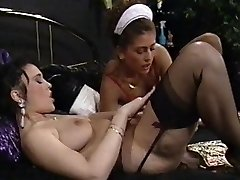 A good Maid meets her Domina Girl-girl Cravings