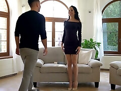 Alluring seductress Francys Belle is making love with her boyfriend