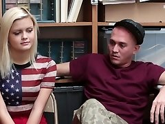 Shoplyfter - Girlfriend Fucked By Sleazy Officer and Boyfriend Witnesses