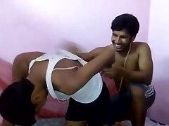 Indian boy disrobed naked