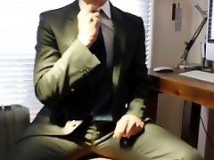 Business Suit Wank