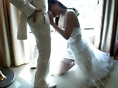 Asian Tgirl Pokes New Husband After Wedding