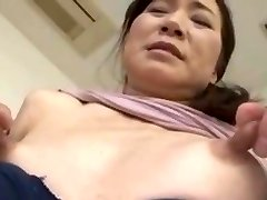 Thin asian with huge nipples
