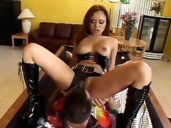 Incredible sex industry star Annie Cruz in best blowjob, anal sex clip