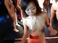 daiya & japan gogo girls supah group striptease dance fun
