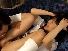 Petite cock smoking from Japan