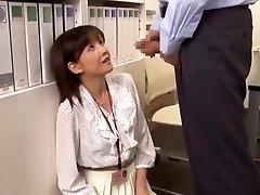 Wild Japanese tart Ai Komori in Hottest Cumshots JAV clip