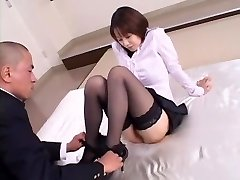 Crazy Japanese girl Misa Nishida in Exotic Cunnilingus, Pantyhose JAV tweak