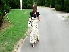 Pregnant Japanese Hotty Has to Fuck  Hobos
