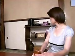 Japanese Mom Comforts Young Boy...F70