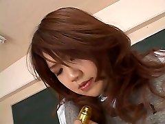 TEACHER PLAYS WITH College Girl -- mdm