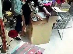 Japanese owner have romp during service hours