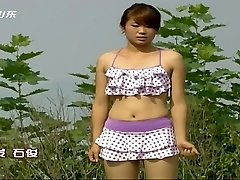 Chinese TV game showcase nipple slips
