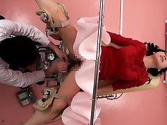 Japanese slut at the Gynecology