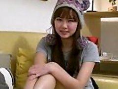 Sexy buxom asian teen girlfriend fingers