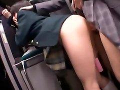 Greatest Japanese whore Natsu Aoi, Yuu Shinoda, Hikaru Yuki in Astounding Masturbation, Girly-girl JAV clip