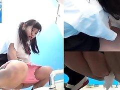 Asiatisch Mädchen Pinkeln Öffentlich