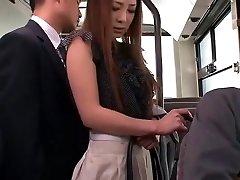 Crazy Asian doll Minori Hatsune in Outstanding Outdoor, Upskirts/Panchira JAV movie