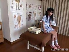 Torrid Asian teen enjoys the art of erotic massage