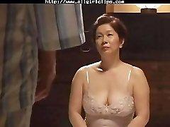 Japanese Lesbian girly-girl nymph on girl lesbians