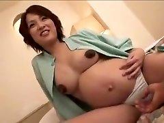 pregnant Japan dame still gets nail part 2