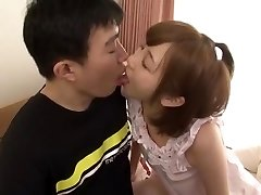 Handsome Japanese model Mei Kago in Horny Small Tits, Doggy Style JAV video