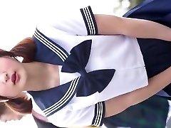 J-cosplay lady high school wear ups 1