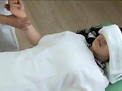 Wunderschöne Jap bekommt verschraubt, versaute spy cam massage clip
