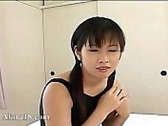 18yo Chinese Tokyo babysitter fucked