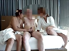 couple share asian prostitute for swing asiaNaughty part 1