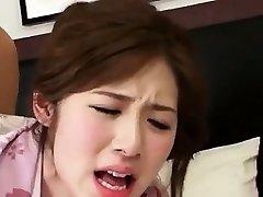Adorable Wondrous  Korean Girl Banging