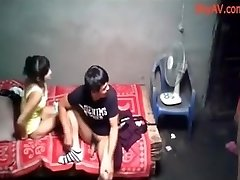 School College Party Chinese Hookup
