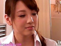 Beautiful busty asian teenie in lingerie