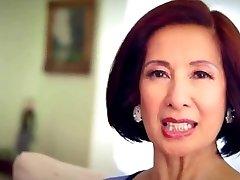64 year elderly Milf Kim Anh talks about Anal Invasion Sex