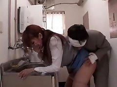 Exotic Japanese chick Ruru Anoa in Horny Office, Fucktoys JAV movie