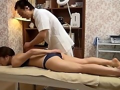 Sensitive Wife Gets Pervy Massage (Censored JAV)