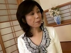 Breasty Japanese granny fucked inexperienced