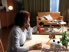 Horny japanese mature babes deepthroating
