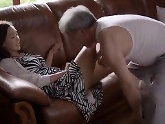 the old nan and cute girl orgy sequence