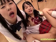 Abe Mikako Does Deep Rimming Shares Gobbling Cum With Acquaintance