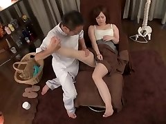 japanese foot massage and orgy