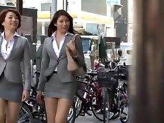 Wild Japanese model Azusa Maki, Kaede Imamura, Makina Kataoka in Best Compilation, Voyeur JAV vid