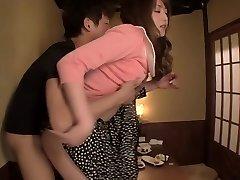 Crazy Japanese girl in Incredible Couple, Hardcore JAV scene