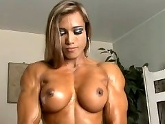 Thai Nymph with muscles