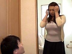 Toying With My Widow Step-mother... Yumi Kazama