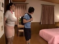 Exotic Chinese model in Horny Nipples, Threesome JAV movie